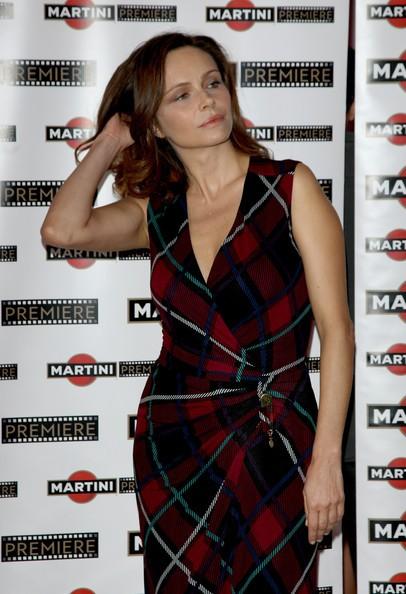 La bella Francesca Neri ad un evento Martini nel 2009