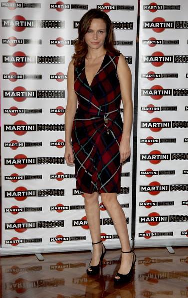 La bella Francesca Neri ad un evento Martini nel 2009 a Milano.