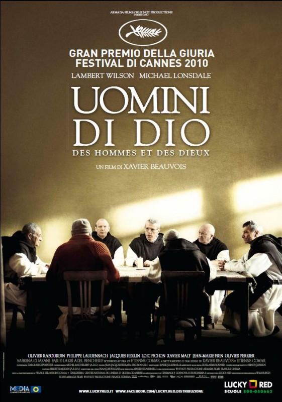 La locandina italiana del film Uomini di Dio