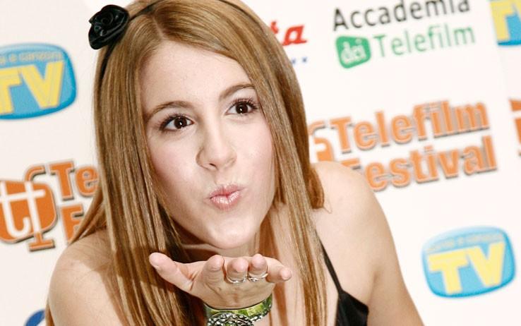 Laura Esquivel, protagonista de Il mondo di Patty - il musical, al Telefilm Festival 2010
