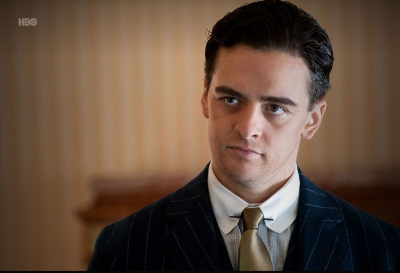 Vincent Piazza nell'episodio Broadway Limited di Boardwalk Empire