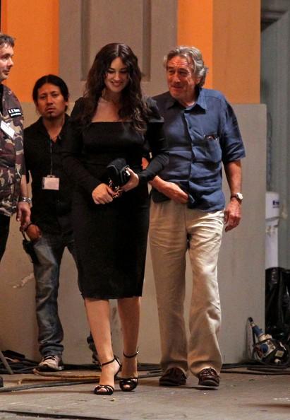 De Niro accanto alla Bellucci sul set di Manuale d'Amore 3