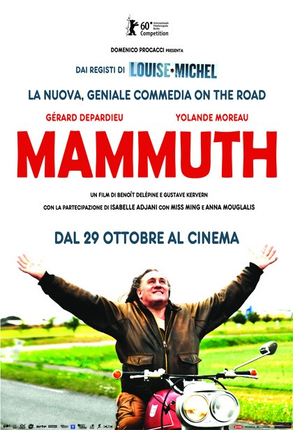 La locandina di Mammuth