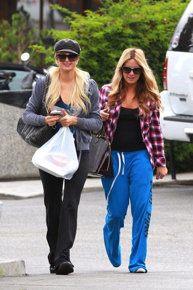 Paris Hilton e un'amica a Los Angeles