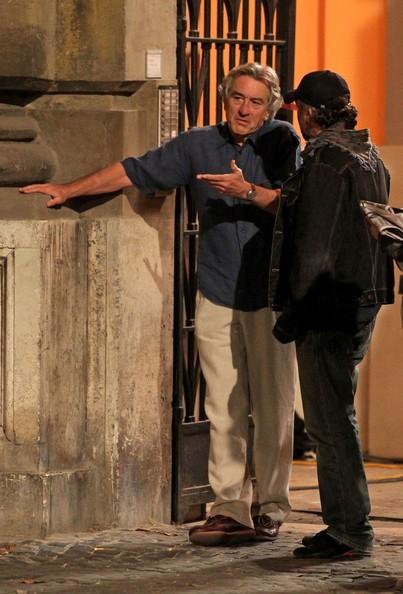 Robert De Niro sul set di Manuale d'Amore 3
