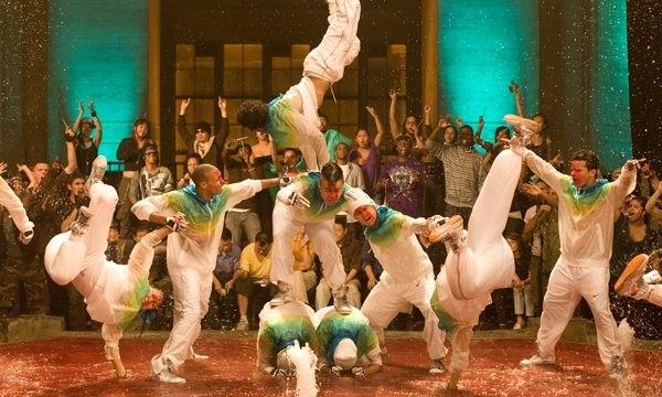 Una delle coreografie del film Step Up 3-D