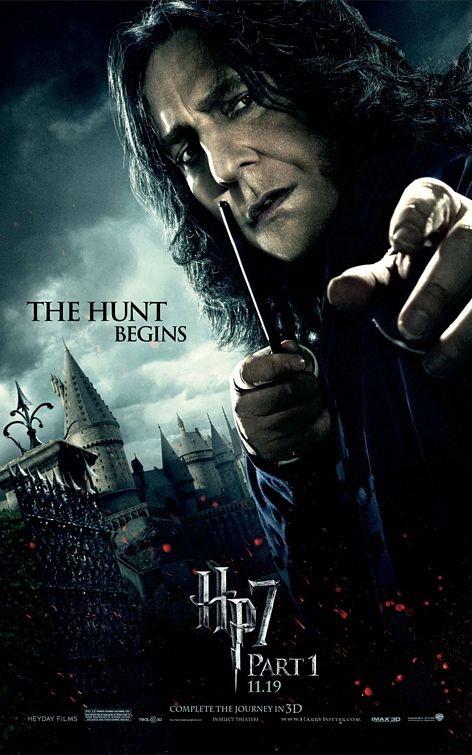 Character Poster (Snape) per il film Harry Potter e i doni della morte - Parte 1