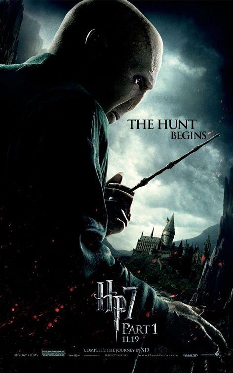 Character Poster (Voldemort) per il film Harry Potter e i doni della morte - Parte 1