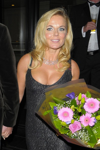 Geri Halliwell al Breast Cancer Care's fashion show a Londra