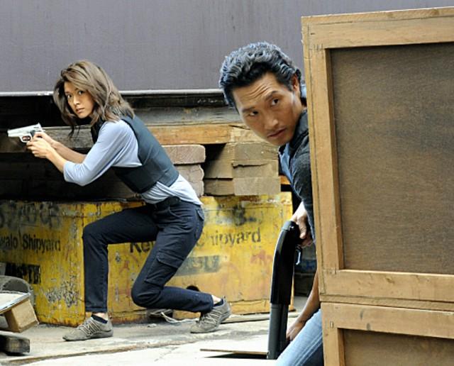 Grace Park e Daniel Dae Kim nell'episodio Nalowale di Hawaii Five-0