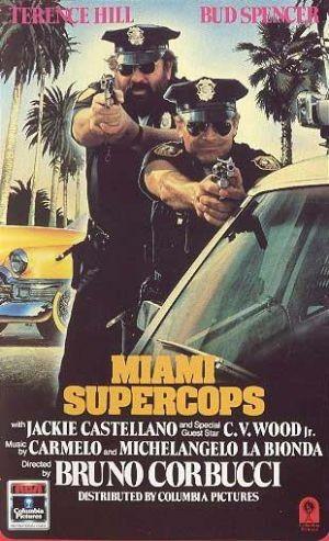 La locandina di Miami supercops