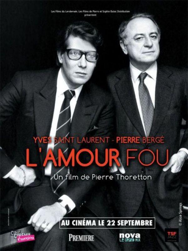 La locandina di Yves Saint Laurent, l'amour fou