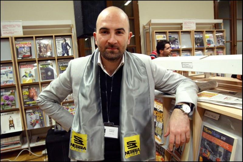 Nebbia Gialla 2010, Donato Carrisi. Foto di Michele Corleone / Studiocutup