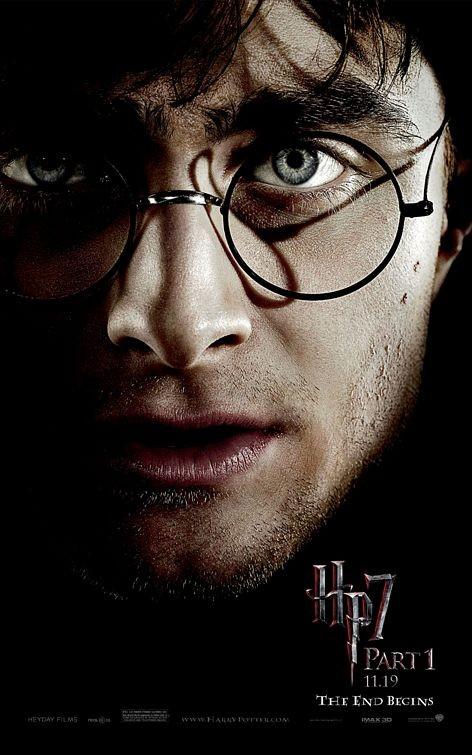 Nuovo Character Poster (Harry) per il film Harry Potter e i doni della morte - Parte 1