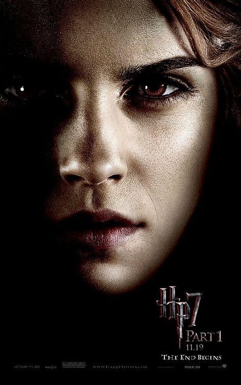 Nuovo Character Poster (Hermione) per il film Harry Potter e i doni della morte - Parte 1