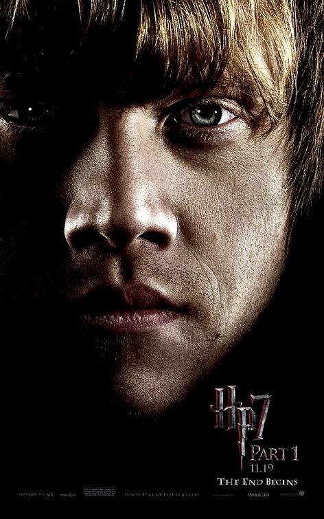 Nuovo Character Poster (Ron) per il film Harry Potter e i doni della morte - Parte 1