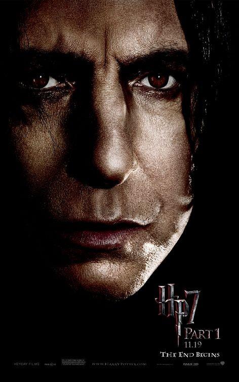 Nuovo Character Poster (Snape) per il film Harry Potter e i doni della morte - Parte 1