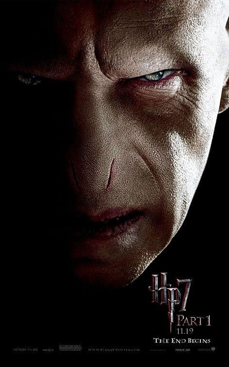 Nuovo Character Poster (Voldemort) per il film Harry Potter e i doni della morte - Parte 1