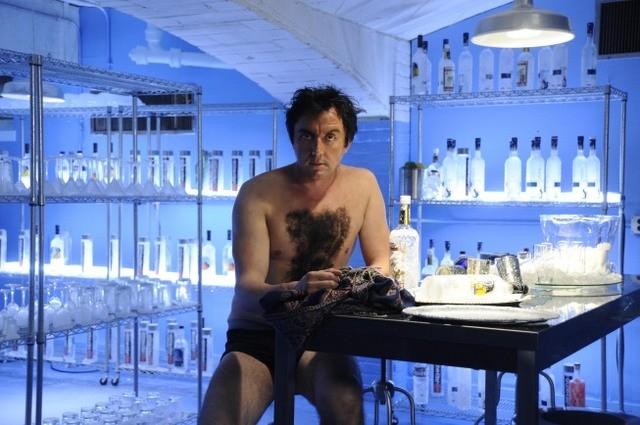 Peter Serafinowicz nell'episodio Oil & Water di Running Wilde