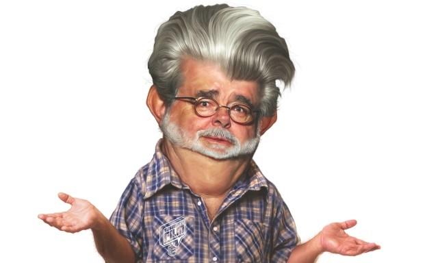 Un'ironica immagine dal documentario The People vs. George Lucas