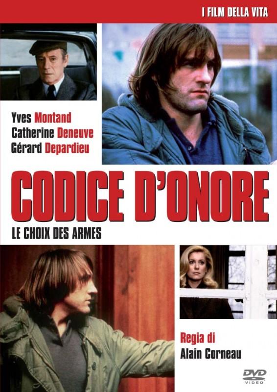 La copertina di Codice d'onore (dvd)