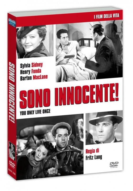 La copertina di Sono innocente (dvd)