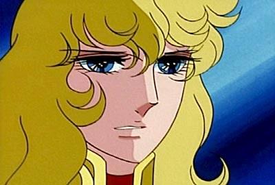 La protagonista dell\'anime Lady Oscar