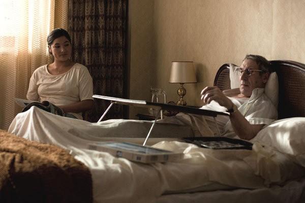 Magaly Solier e Celso Bugallo in un'immagine del film Amador