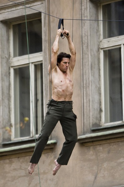 Tom Cruise gira alcune scene action sul set di Mission: Impossible 4