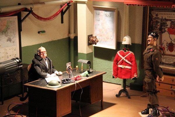 Una scena del film Jackboots on Whitehall