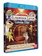 La copertina di Il Professor Layton e l'eterna Diva (blu-ray)