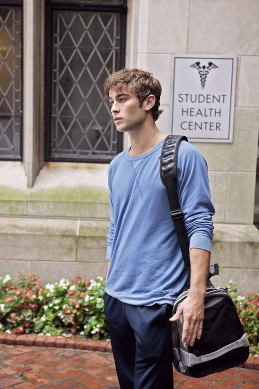 Nate (Chace Crawford) in una scena dell'episodio Goodbye Columbia di Gossip Girl
