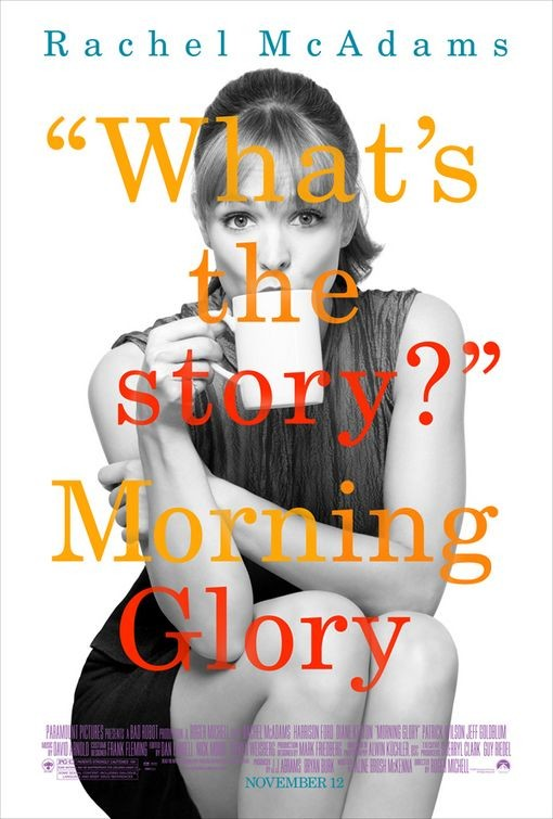 Character Poster per Rachel McAdams in Morning Glory