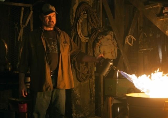 Jim Beaver in una scena dell'episodio Weekend at Bobby's di Supernatural