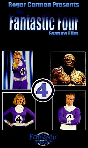 La locandina di The Fantastic Four