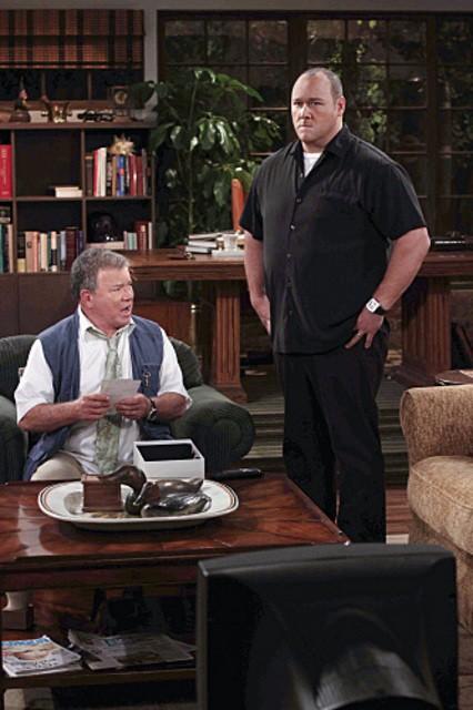 Will Sasso e William Shatner nell'episodio Code Ed di $#*! My Dad Says