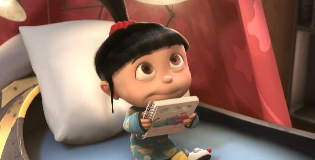 Agnes in una scena del film Cattivissimo me