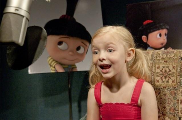 Elsie Fisher dà la voce ad Agnes nel film Cattivissimo me