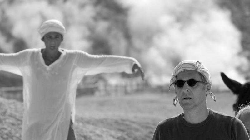 Fiorello e John Turturro nel videoclip che fa parte del flm Passione