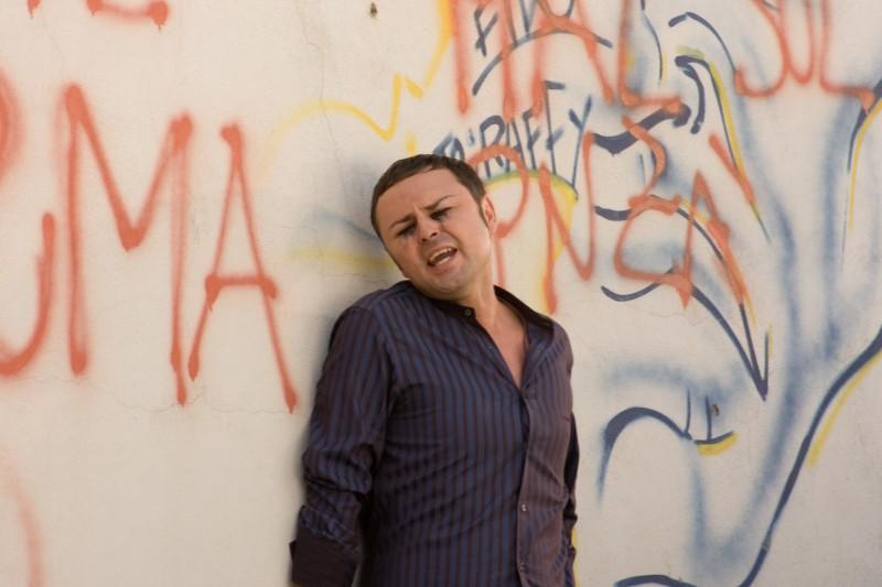 Gennaro Cosmo Parlato in un'immagine dal film Passione di John Turturro