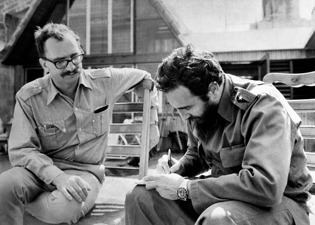 Inge Film: un'immagine di Fidel Castro con Giangiacomo Feltrinelli