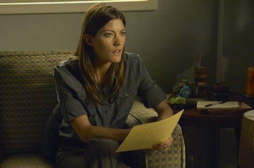 Jennifer Carpenter in una scena dell'episodio Practically Perfect della quinta stagione di Dexter.