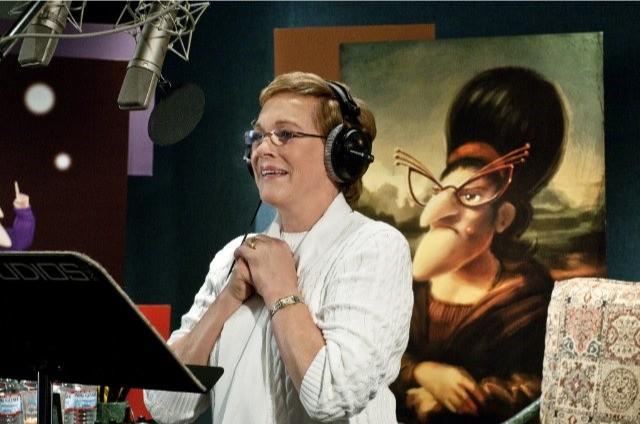 Julie Andrews dà la voce alla mamma di Gru nel film Cattivissimo me