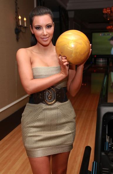 Kim Kardashian all'inaugurazione del High Rollers Luxury Lanes and Lounge al Foxwoods Resort Casino, nel Connecticut