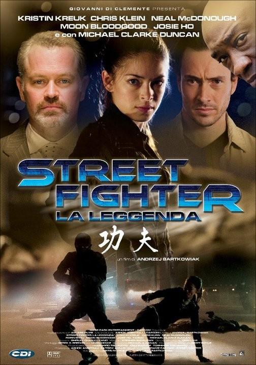 La locandina italiana di Street Fighter: La leggenda
