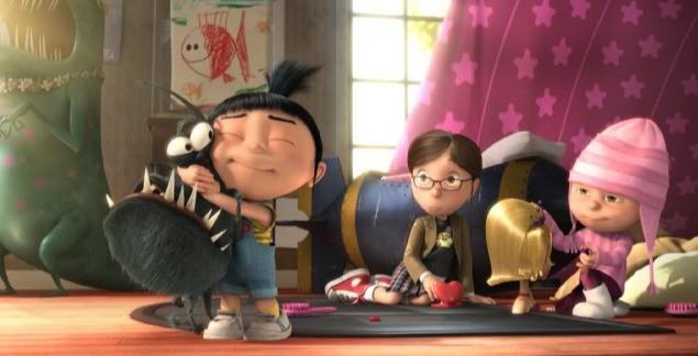La piccola Agnes nel film Cattivissimo me