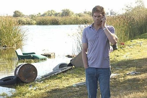 Michael C. Hall nell'episodio Hello Bandit della quinta stagione di Dexter.
