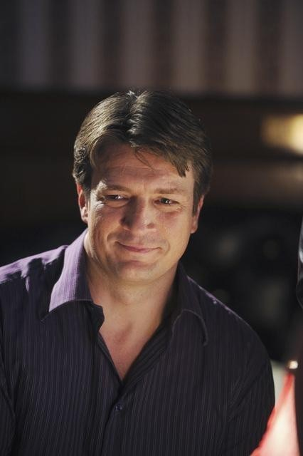 Nathan Fillion nell'episodio Almost Famous di Castle