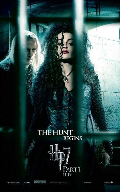 Nuovo Character Poster (Lucius Malfoy e Bellatrix Lestrange) per il film Harry Potter e i doni della morte - Parte 1