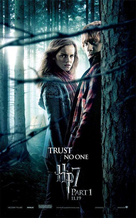 Nuovo Character Poster (Ron ed Hermione) per il film Harry Potter e i doni della morte - Parte 1